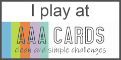 AAA Cards clean and simple challenge
