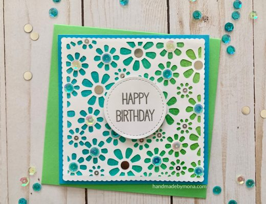 Cricut Explore Daisy Card
