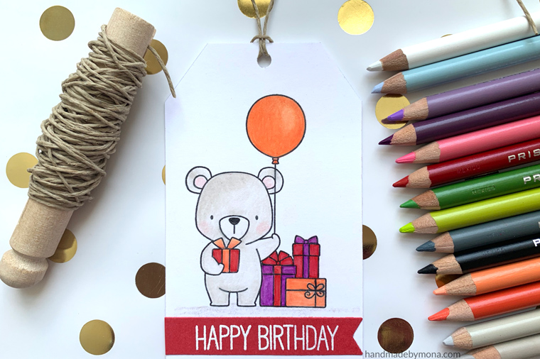 My Favorite Things Birthday Tag Beary Special Birthday