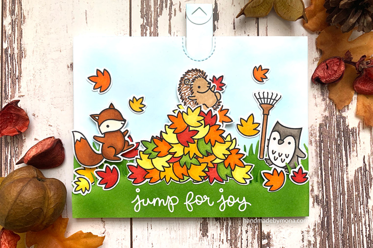 Lawn Fawn Jump for Joy interactive card