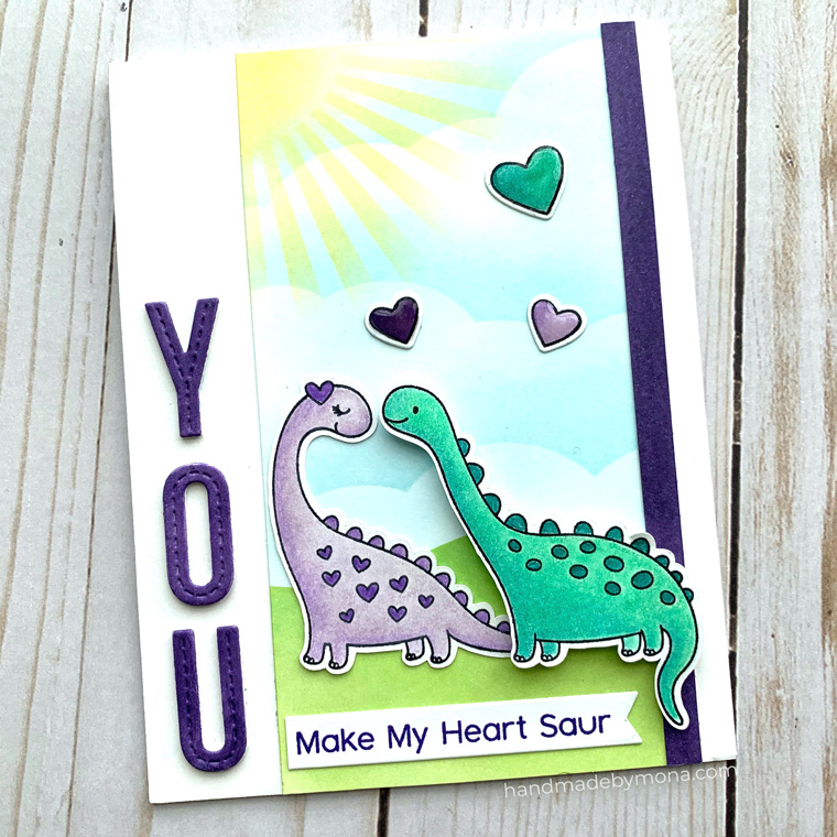 My Favorite Things Cuteasaurus stamp set