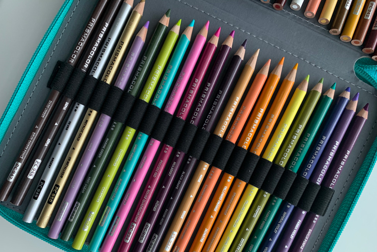 prismacolor pencils organization ideas