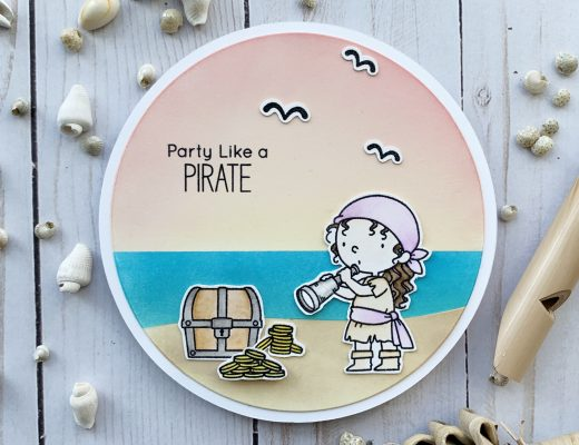 My Favorite Things Party Like a Pirate Beach Scene