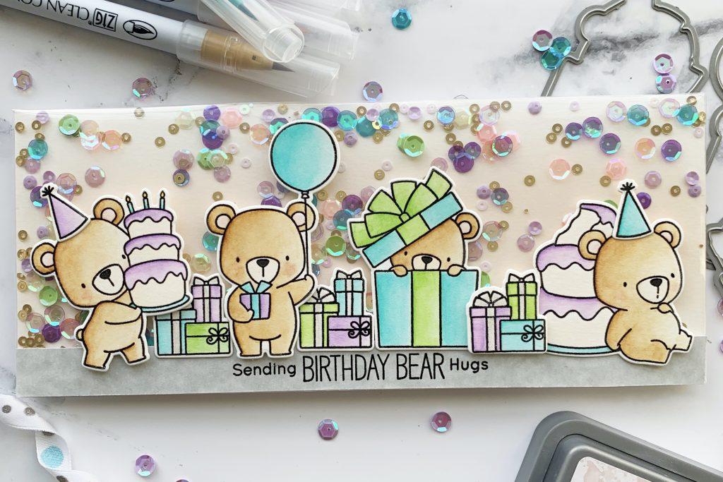 Mft Beary Special Birthday Infinity Shaker
