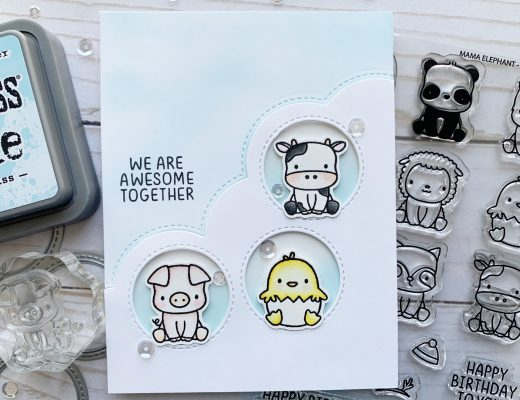 Mama Elephant Stackable Friends and Stackable Cuties stamp sets