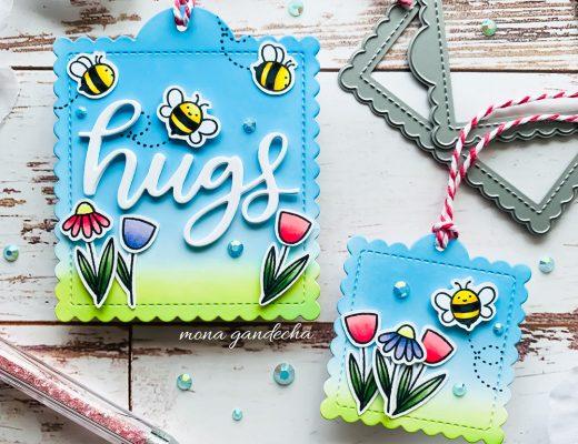 Pretty Pink Posh Bee Friends stamp set